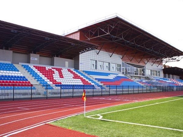 Схема стадиона в долгопрудном