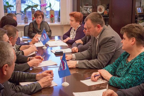 ВЗарайске прошло совещание местного политсовета партии «Единая Россия»