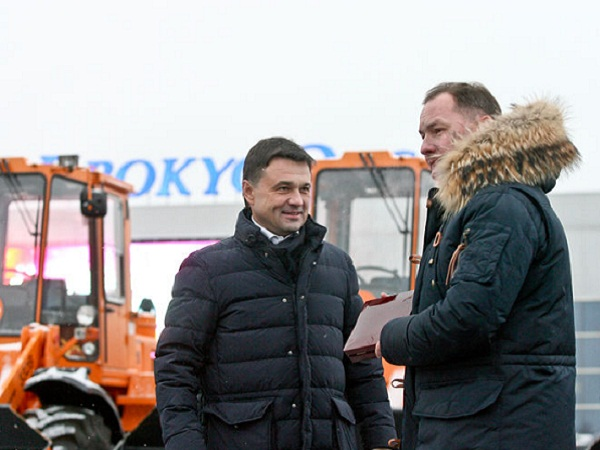 5 единиц новейшей коммунальной техники передали вСолнечногорск