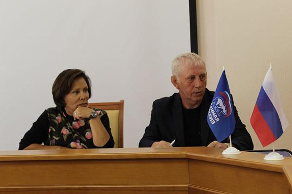 Приём граждан Дубны провела депутат Госдумы Ирина Роднина